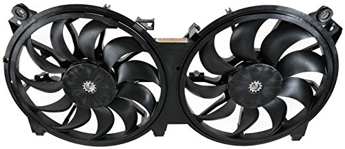 Dual Radiator Cooling Fan Assembly for 07-11 Nissan Altima 2.5L 3.5L