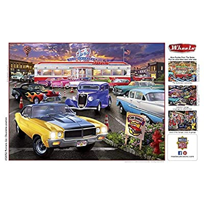 MasterPieces Wheels - Runner's Up 750-Piece Jigsaw Puzzle: Toys & Games