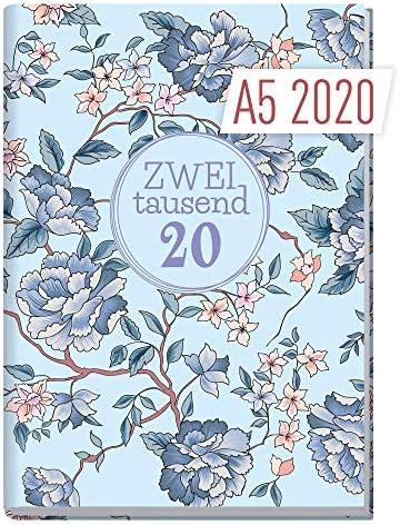 Chäff-Timer Classic A5 Kalender 2020 [Blütenpracht] Terminplaner 12 Monate: Jan bis Dez | Wochenkalender, Organizer, Terminkalender mit Wochenplaner - Top organisiert durchs Jahr!