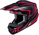 HJC CS-MX II Edge Off-Road Motorcycle Helmet Black Red XX-Large