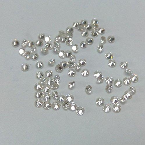 2.10mm Natural White Diamond Round IJ Color VS Quality Loose Diamonds Wholesale Lot 10 Pieces