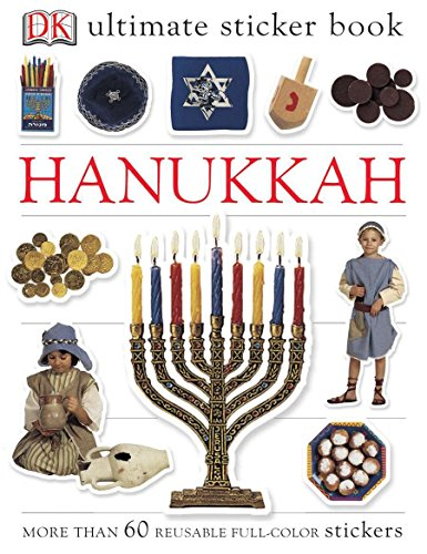 Ultimate Sticker Book: Hanukkah: More Than 60 Reusable Full-Color Stickers