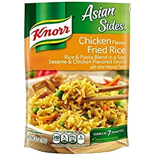 Knorr Asian Sides Rice Side Dish, Chicken Fried Rice 5.7 oz (Package of 4)