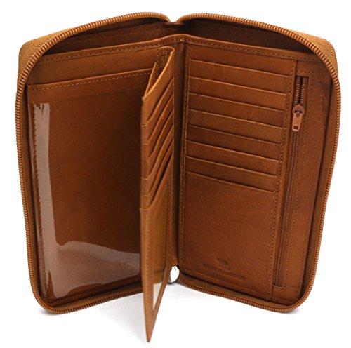Zip Flap Checkbook Wallet - 4