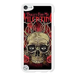 Bullet For My Valentine N6D8TD4I Caso funda iPod Touch 5 Caja blanco