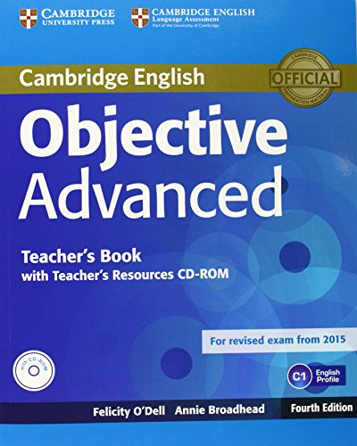 Objective first teachers book english cambridge