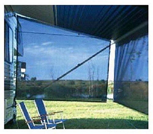 RV Trailer Camper Sun & Shade Sideblocker 6' X 8' Navy Ca...