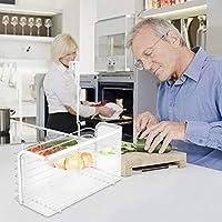 Organizador de cestas de almacenamiento con asas para cocina ...
