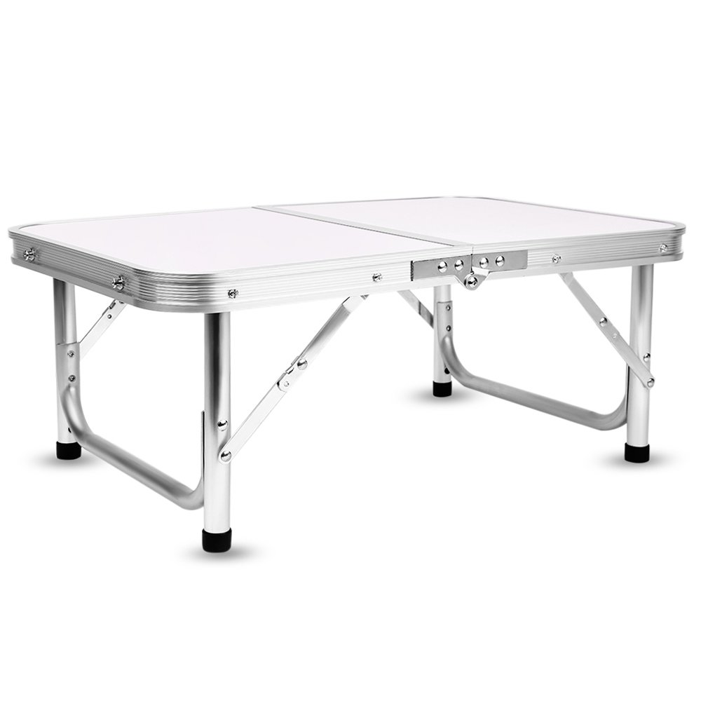 Aluminum Folding Camping Table Laptop Bed Desk Adjustable Height 60 x 40.5 x 24/41.5cm by DOVOK (Image #7)