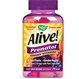 Nature's Way Alive! Prenatal Gummy Vitamins