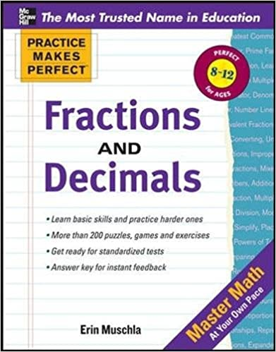 Practice Makes Perfect: Fractions, Decimals, and Percents ...