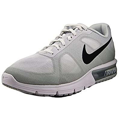 amazon com nike air max sequent sz 10 mens running shoes white