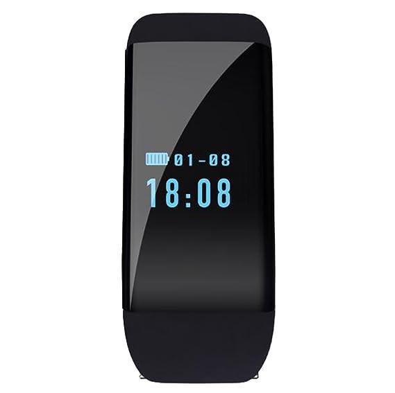 ritmo cardíaco unisex reloj inteligente de pantalla táctil bluetooth para ios/teléfono inteligente Android de
