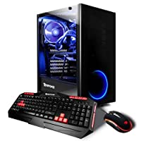 iBUYPOWER AD8440KI Gaming Desktop Computer, Intel Core i7-8700K 3.70GHz, 16GB RAM, 240GB SSD + 1TB HDD, GeForce GTX 1060 6GB, Windows 10 Home
