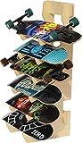 The BOARDROOM Skateboard Longboard Floor Display Rack