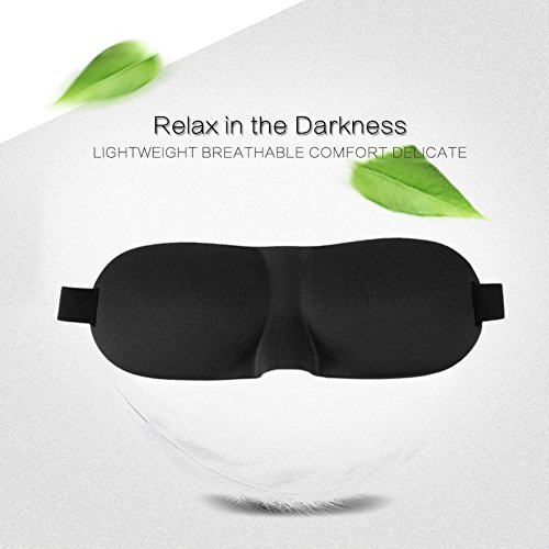 Premium Set Of 4 Sleeping Masks By ZZTX With Ear Plugs For Meditation, Shift Workers, Men & Women Great for Travel, Shift Work & Meditation These breathable masks are suitable for people of all ages