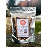 "Bullystick All Beef pizzles (6"") (20pc) for All-Sized Dogs - All Natural - Made in Canada - Low Odour - Hormone Free - Long Lasting (Regular, Standard)"