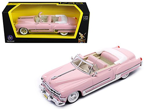 1949 Cadillac Coupe De Ville Pink 1/43 Diecast Model for sale  Delivered anywhere in USA
