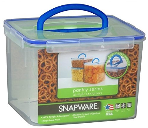 Snapware Airtight Plastic 29-Cup Food Storage Container w/ L