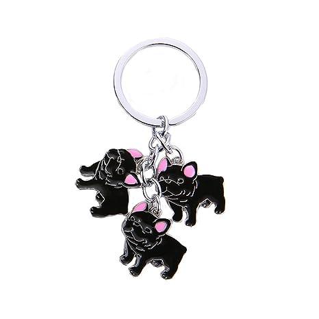 BbearT® - Llavero con diseño de Perro con Texto en inglés ...