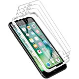 LK [3 Pack] iPhone 7 Plus Screen Protector, [Tempered Glass][Case Friendly] DoubleDefence Technology [Alignment Frame Easy Installation] [3D Touch] Lifetime Replacement Warranty