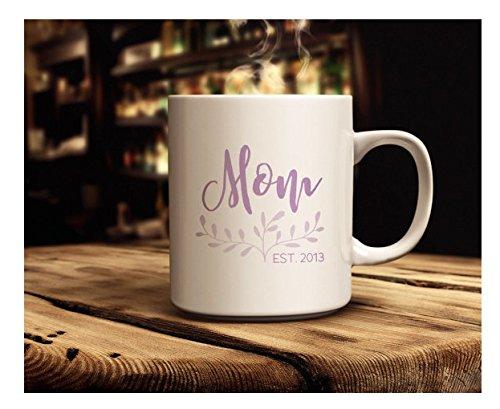 Mom Mug   Coffee Mug   Coffee Mug Just for Mom   Gift for Mom   Mother's Day Gift   Mug Available in 11 oz. & 15 oz. sizes   Mother's Day