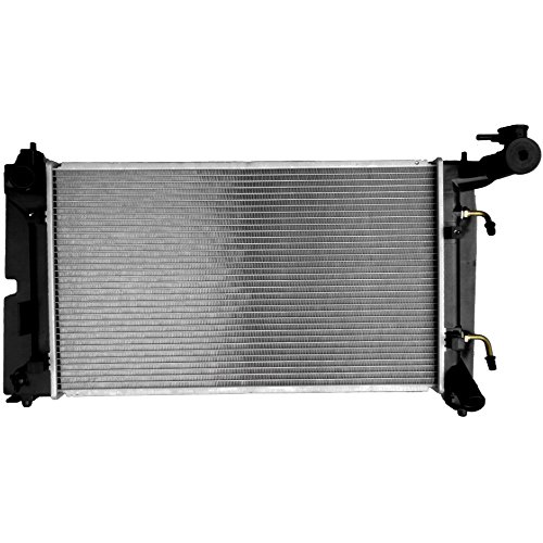 - SCITOO New 1 Row Radiator 2428 Compatible with 2003-2008 Toyota Corolla Matrix