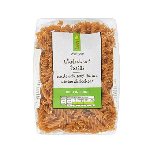 Wholewheat Fusilli Waitrose Love Life 500g by WAITROSE