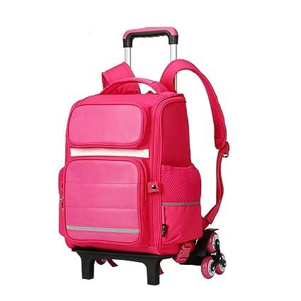 FFSS Maleta Trolley para niños Edificio de Escalada Carro Impermeable Resistente al Desgaste Carga con Luminosa