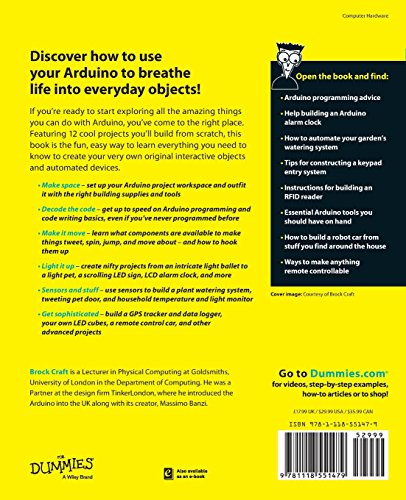 Arduino projects for dummies buy online in uae