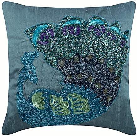 Green Pillow China Decoraticion Pillow Cover 16x26 Blue Pillow Cover Blue Pillow Designer Pillow Chinese Pillow Navy Blue Pillow