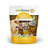 Vegalicious 1 Pouch 90728 Squash Rings Healthy Dehydrated Dog Treats, 181.4G/6.4 Oz