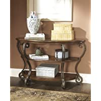 Nest Wood Metal Console Table