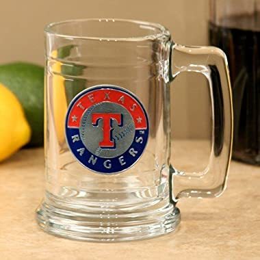 Great American Products MLB Texas Rangers Tankard, One Size, Black