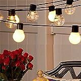 String Lights Outdoor Indoor, Battery Powered 10