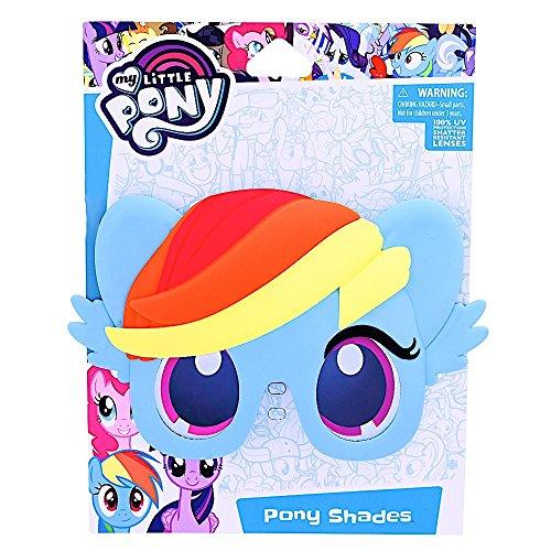 Sunstaches Rainbow Dash Instant Costume Sunglasses Licenced