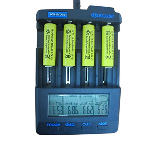 GEILIENERGY-Perfect-Home-Station-8-Piece-Set-AA-NiCd-600mAh-12V-Rechargeable-Battery