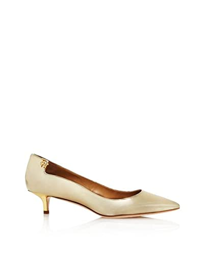 0b8643c60 Image Unavailable. Image not available for. Color: Tory Burch Elizabeth  Patent Leather Kitten Heel Pumps ...