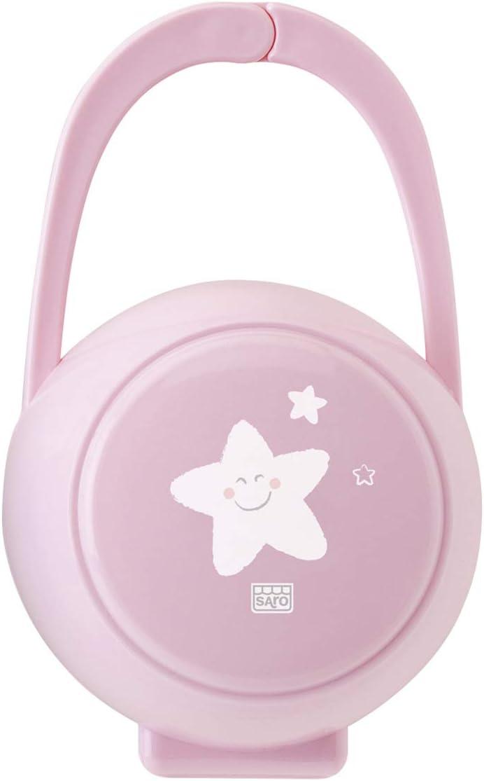 Saro 1481 - Cajita portachupete, rosa: Amazon.es: Bebé