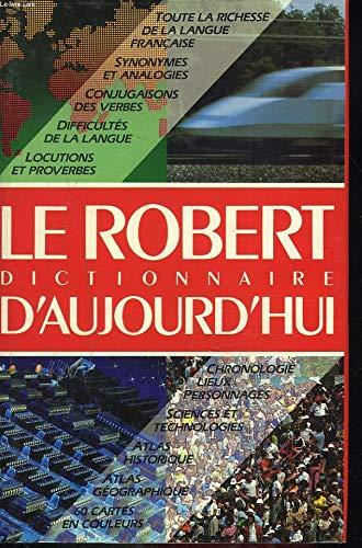 Price comparison product image Le Robert Dictionnaire D'Aujourd'hui