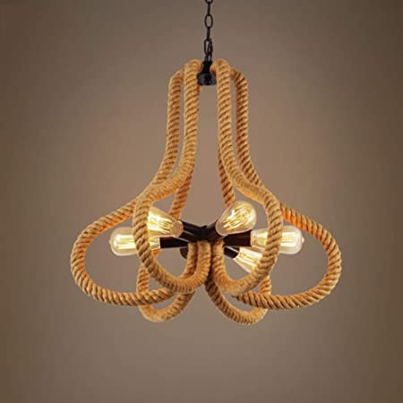 Amazon.com: Ceiling Fan Light Chandelier Lightings Retro ...