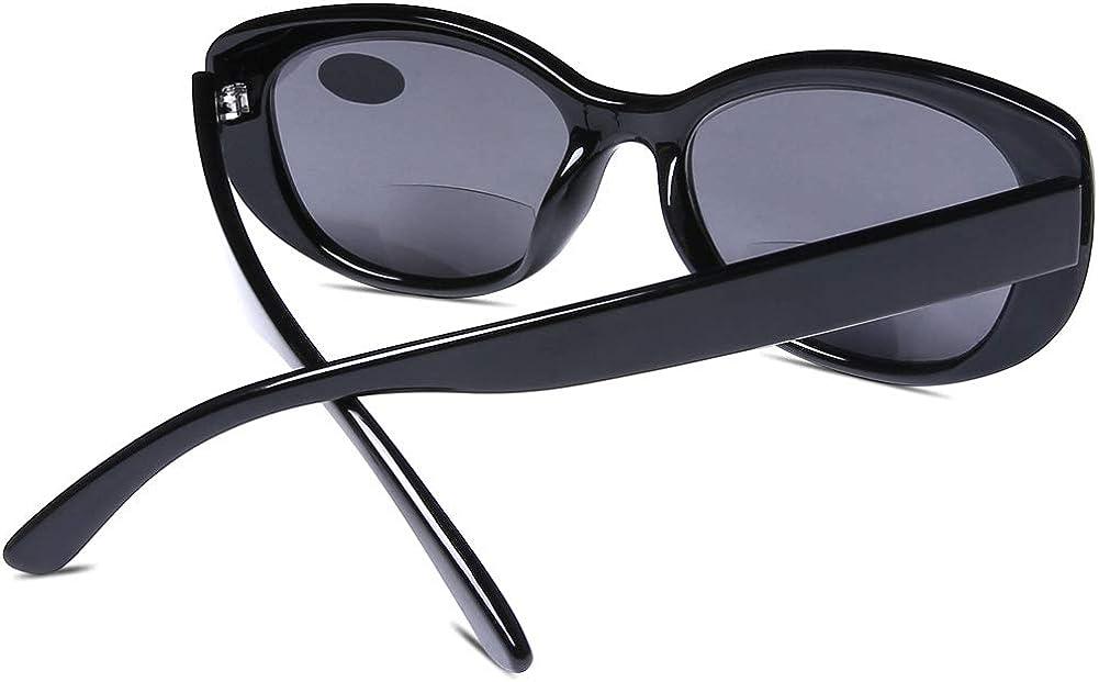 DOOVIC Bifokale Sonnenbrille f/ür Lesen/Schildkr/öte Hornbrille SS9547