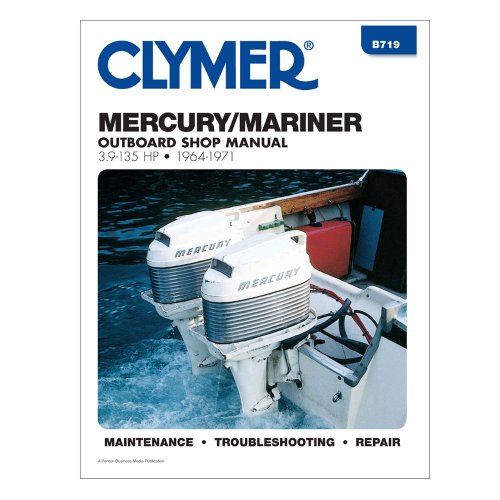Outboard Operation Manual (Clymer Mercury 3.9-135 HP Outboards (1964-1971) Marine , Boating Equipment)