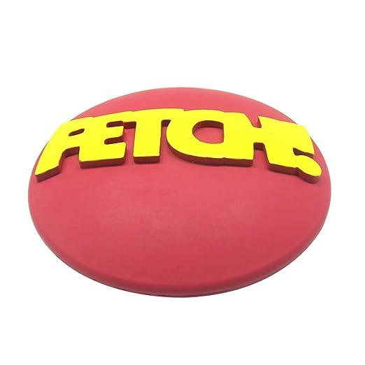 5 opinioni per DAX- Frisbee da riporto in resistente silicone per animali domestici, resistente