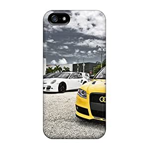 USMONON Phone cases Scratch-free Phone Case For Iphone Iphone 5 5s- Retail Packaging - Cars