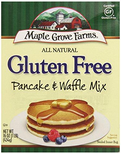 Maple Grove Farms Gluten Free Pancake Mix, 16 oz