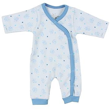 fixoni Unisex – Pijama Little Bee Blau mit Bienen Talla:44
