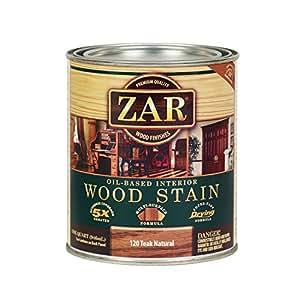 Zar 12012 Wood Stain Teak Natural Stain Amazon Canada