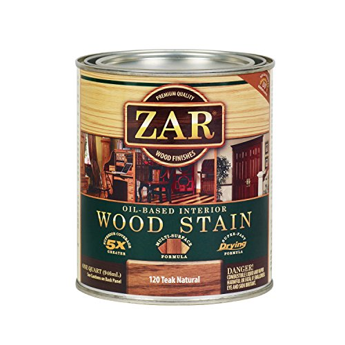 ZAR 12012 Wood Stain, Teak (Oil Wood Stain)