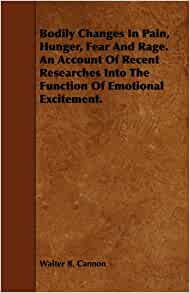 bodily changes in pain hunger fear and rage pdf